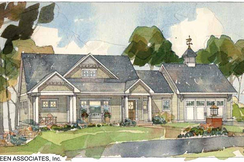 Craftsman Exterior - Front Elevation Plan #928-83 - Houseplans.com