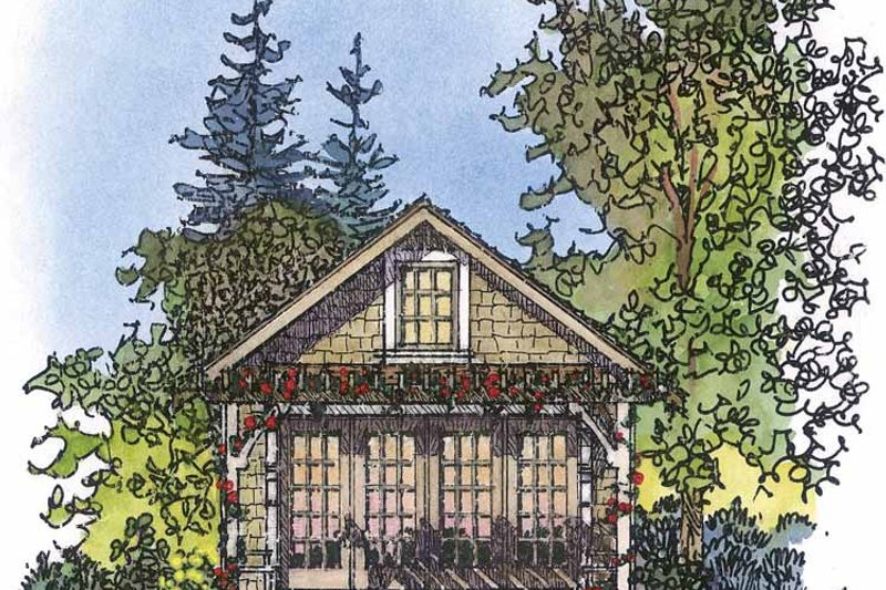 Dream House Plan - Country Exterior - Front Elevation Plan #1016-72