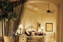 House Design - Mediterranean Interior - Master Bedroom Plan #930-54