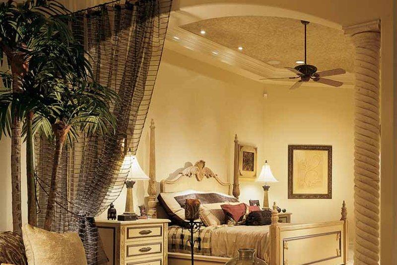 Mediterranean Interior - Master Bedroom Plan #930-54 - Houseplans.com