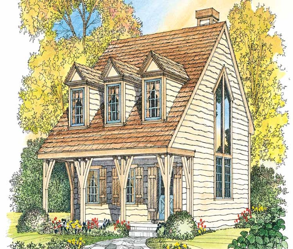 Craftsman style house plan 1 beds 1 5 baths 1065 sq ft for Homplans