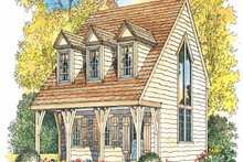 Craftsman Exterior - Front Elevation Plan #1016-66
