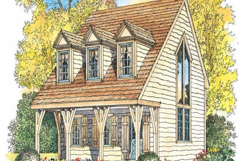 Craftsman Exterior - Front Elevation Plan #1016-66 - Houseplans.com