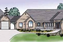 Traditional Exterior - Front Elevation Plan #945-27