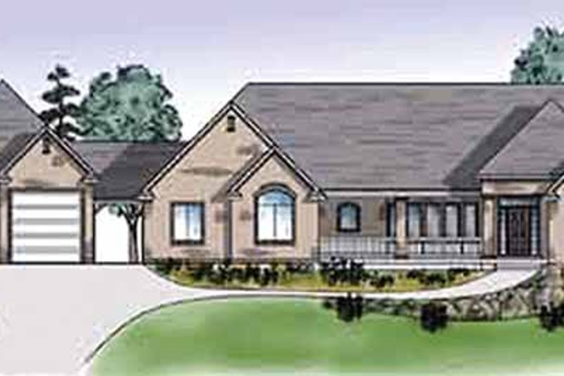 House Design - Traditional Exterior - Front Elevation Plan #945-27