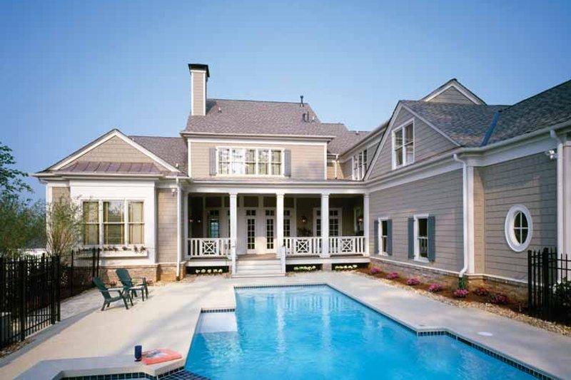 Colonial Exterior - Rear Elevation Plan #429-327 - Houseplans.com