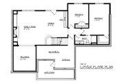 Craftsman Style House Plan - 3 Beds 2.5 Baths 3000 Sq/Ft Plan #320-489 Floor Plan - Lower Floor Plan