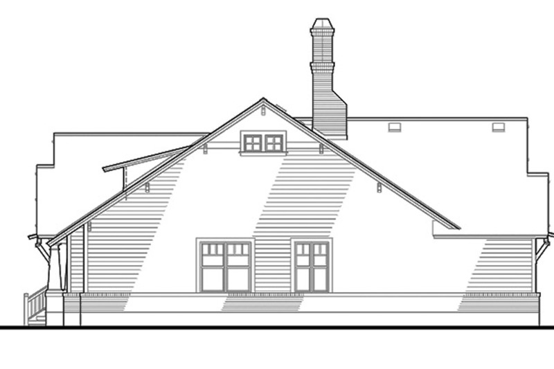 Craftsman Exterior - Other Elevation Plan #120-249 - Houseplans.com
