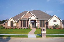 House Plan Design - Country Exterior - Front Elevation Plan #84-647