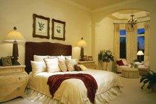 Mediterranean Interior - Master Bedroom Plan #930-188
