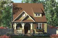 Craftsman Exterior - Front Elevation Plan #453-634