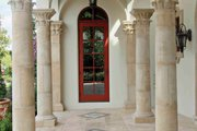 Mediterranean Style House Plan - 6 Beds 5 Baths 6493 Sq/Ft Plan #1058-1 Exterior - Other Elevation