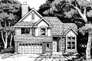 Traditional Style House Plan - 4 Beds 3 Baths 2251 Sq/Ft Plan #50-178 Exterior - Other Elevation