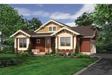 House Plan Design - Craftsman Exterior - Front Elevation Plan #132-532
