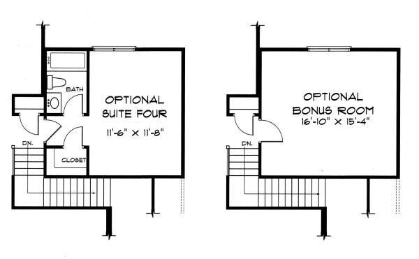 Tudor Floor Plan - Other Floor Plan Plan #413-135