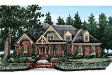 Home Plan - European Exterior - Front Elevation Plan #927-368