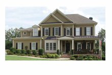 House Plan Design - Country Exterior - Front Elevation Plan #54-336