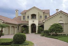 Dream House Plan - Mediterranean Exterior - Front Elevation Plan #1019-14