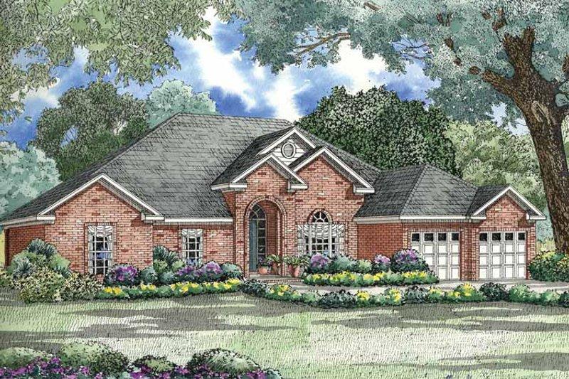 House Plan Design - Ranch Exterior - Front Elevation Plan #17-2792