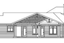 Dream House Plan - Craftsman Exterior - Other Elevation Plan #124-737