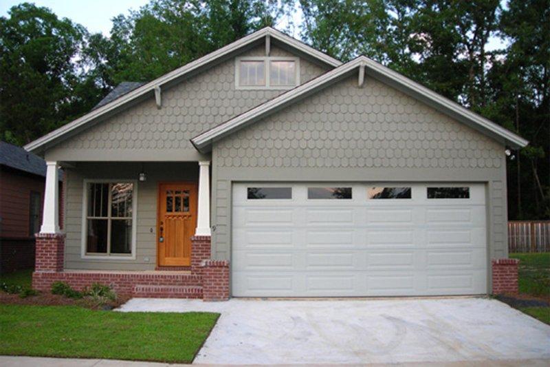 Cottage Exterior - Front Elevation Plan #430-21
