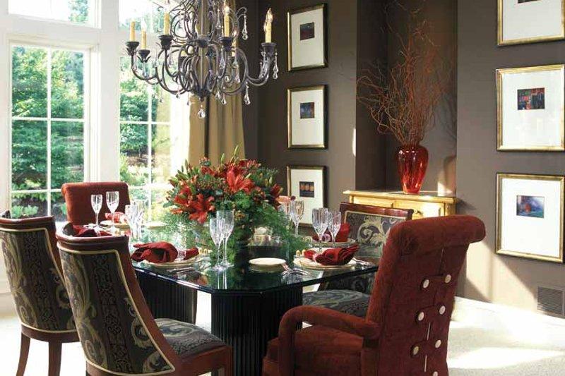 European Interior - Dining Room Plan #928-37 - Houseplans.com