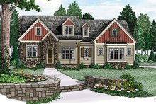 Home Plan - European Exterior - Front Elevation Plan #927-974