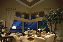 Home Plan Design - Mediterranean Interior - Family Room Plan #930-412