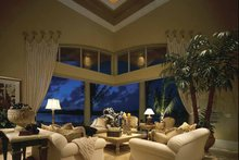 Home Plan - Mediterranean Interior - Family Room Plan #930-412