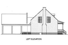 Southern Exterior - Other Elevation Plan #45-189