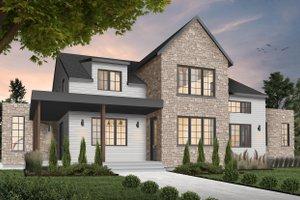 Dream House Plan - Farmhouse Exterior - Front Elevation Plan #23-2691