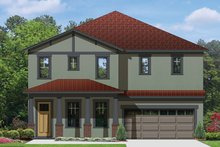 Craftsman Exterior - Front Elevation Plan #1058-69
