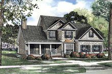 Country Exterior - Front Elevation Plan #17-3116