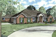 Home Plan - Classical Exterior - Front Elevation Plan #17-2770