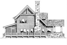 Dream House Plan - Log Exterior - Other Elevation Plan #942-18