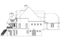Architectural House Design - European Exterior - Other Elevation Plan #453-605