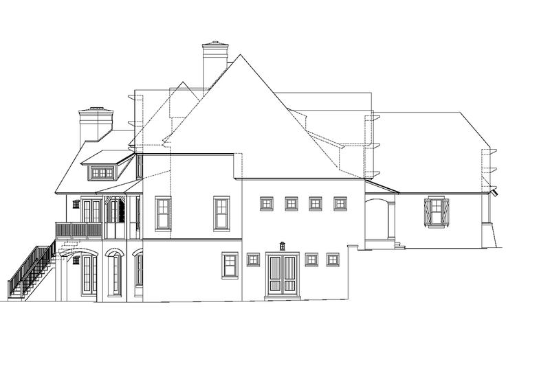 European Exterior - Other Elevation Plan #453-605 - Houseplans.com