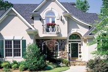 Home Plan Design - Country Exterior - Front Elevation Plan #429-63