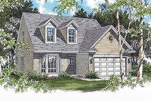 Craftsman Exterior - Front Elevation Plan #48-536