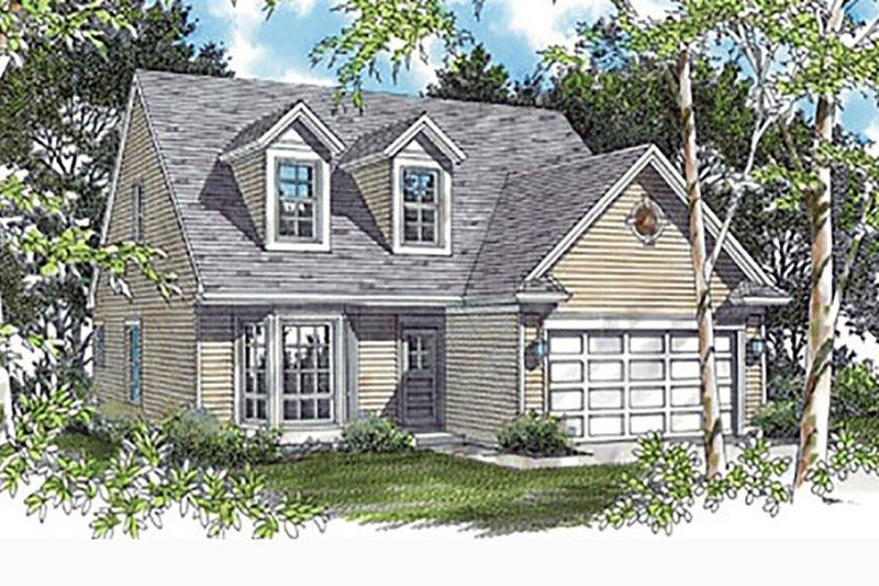 Home Plan - Craftsman Exterior - Front Elevation Plan #48-536