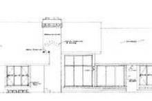 House Blueprint - Traditional Exterior - Rear Elevation Plan #72-165