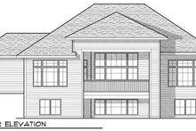 Dream House Plan - Craftsman Exterior - Rear Elevation Plan #70-924