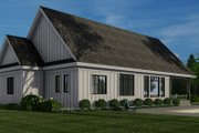 Farmhouse Style House Plan - 3 Beds 2.5 Baths 2336 Sq/Ft Plan #51-1157 Exterior - Front Elevation
