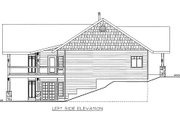 Cabin Style House Plan - 3 Beds 3 Baths 3864 Sq/Ft Plan #117-763 Exterior - Other Elevation