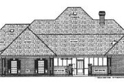 Traditional Style House Plan - 4 Beds 3.5 Baths 2682 Sq/Ft Plan #45-152 Exterior - Rear Elevation