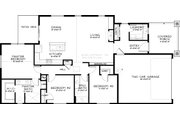 Craftsman Style House Plan - 3 Beds 2 Baths 1596 Sq/Ft Plan #895-40 Floor Plan - Main Floor Plan