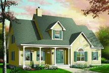 Dream House Plan - Traditional Exterior - Front Elevation Plan #23-534