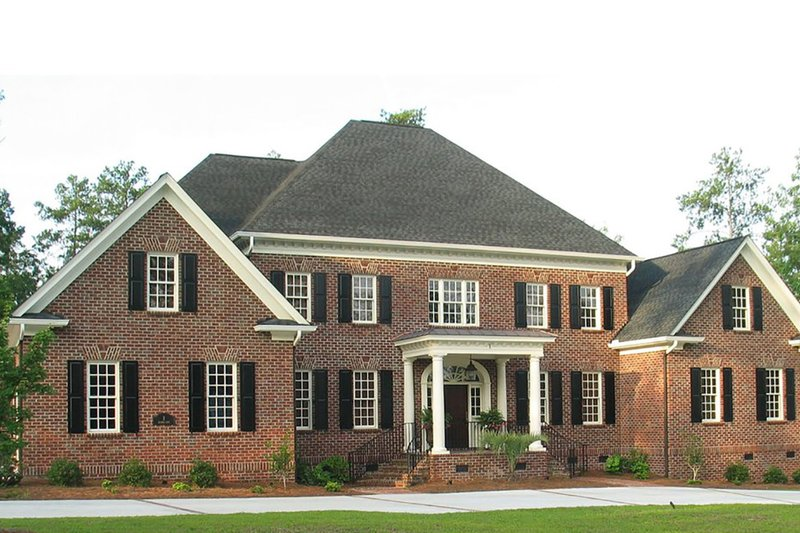 Classical Style House Plan - 5 Beds 5.5 Baths 5389 Sq/Ft Plan #1054-53