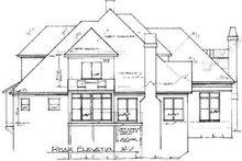 Home Plan - European Exterior - Rear Elevation Plan #41-166