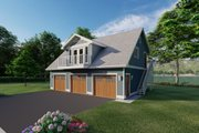 Traditional Style House Plan - 2 Beds 1 Baths 880 Sq/Ft Plan #126-161